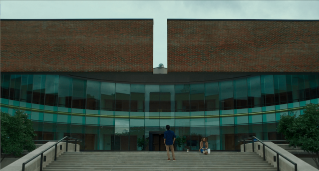 Screenshot from 'Columbus' (2017)