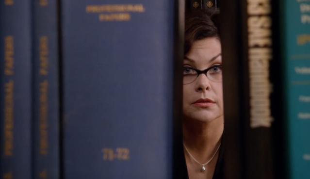 Librarian glare!