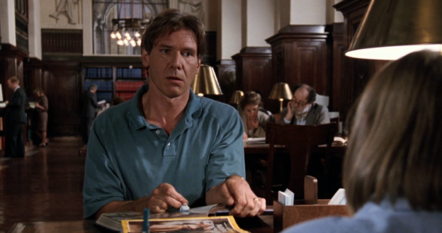 Reel Librarians | Screenshot from 'Regarding Henry' (1991)