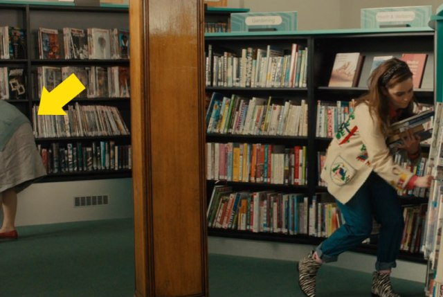 Reel Librarians | Screenshot from 'Me Before You' (2016)