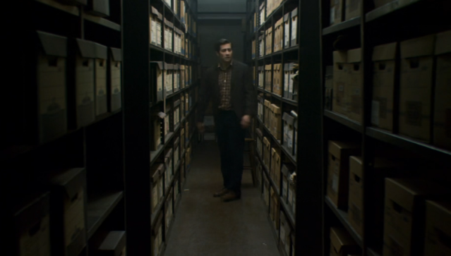 Reel Librarians | Screenshot from 'Zodiac' (2007)