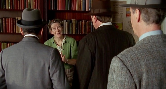 Meet the librarian in 'Evil Under the Sun' Poirot TV movie