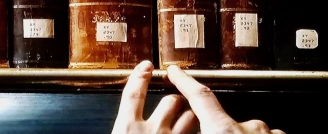 Library of Congress call number closeups in National Treasure 2 (2007)