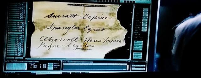 Screenshot from 'National Treasure 2' (2007)