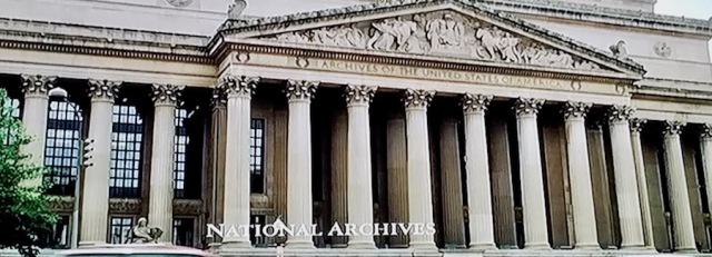 National Archives building in Washington D.C.