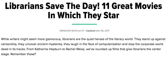 Huffington Post article screenshot