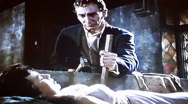 Screenshot from 'Horror of Dracula' (1958)