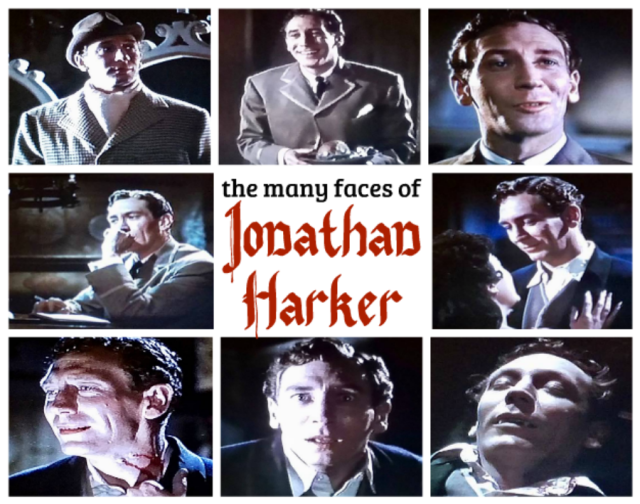 The many faces of Jonathan Harker
