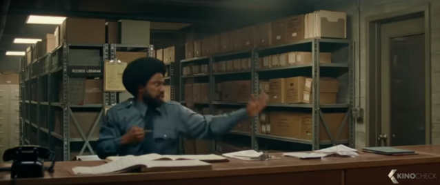 Screenshot from BlackkKlansman (2018) trailer