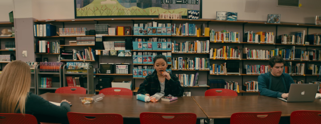 Screenshot from To All the Boys I've Loved Before (2018)