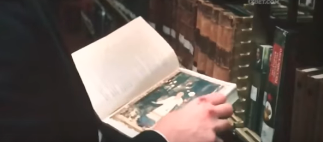 Library book prop in John Wick: Chapter 3 - Parabellum (2019)