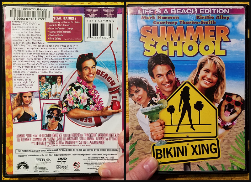 Summer School DVD covers