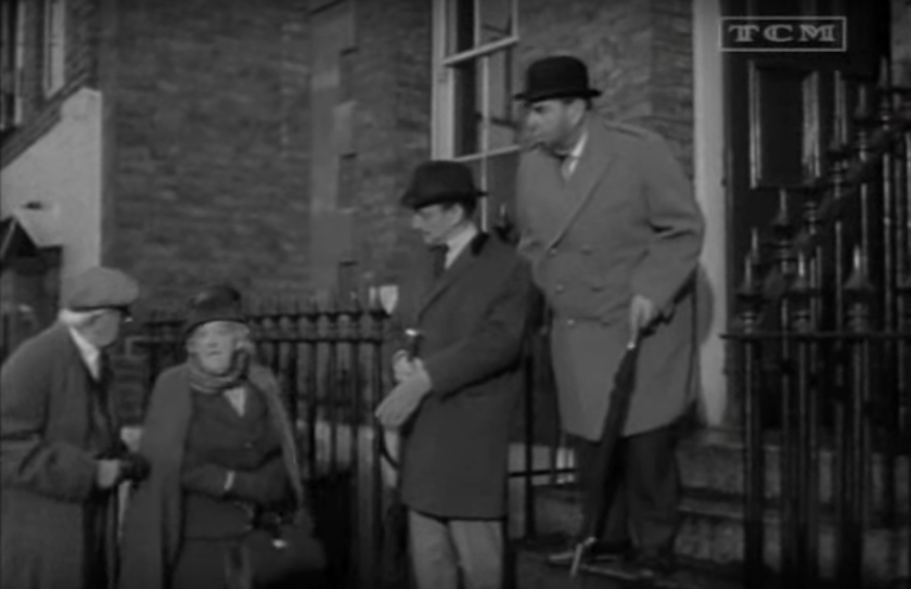 Mr. Stringer and Miss Marple make a cameo appearance in The Alphabet Murders (1965)