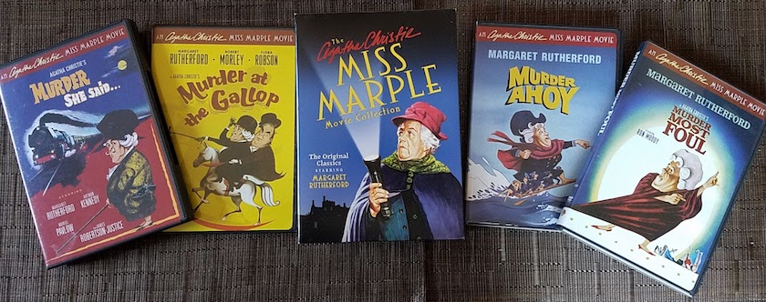 DVD box set of MGM's Miss Marple movie series