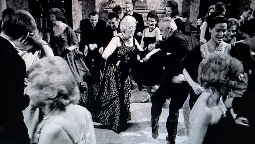 Mr. Stringer and Miss Marple dance the twist in Murder at the Gallop (1963)
