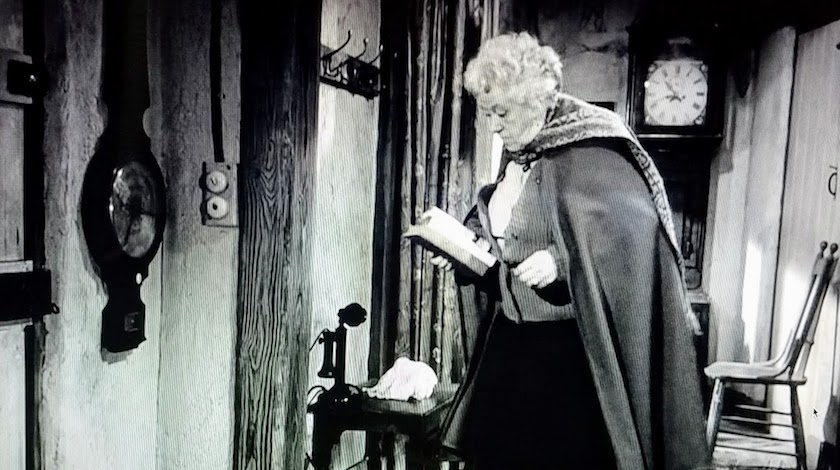 Miss Marple's scarf cape, as seen in Murder She Said (1961)