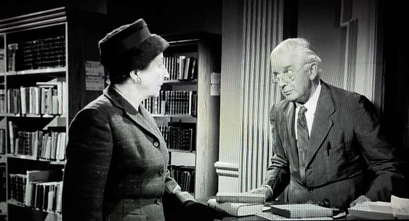 Our first look at Mr. Stringer in Murder She Said (1961)