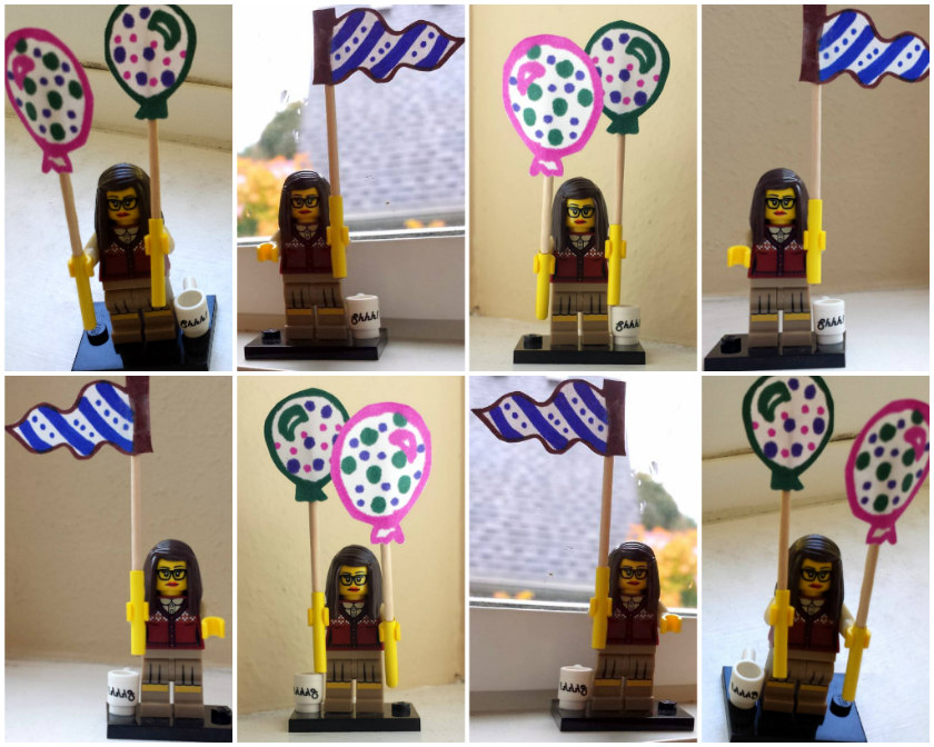 Lego Librarian celebrates 8 years of Reel Librarians