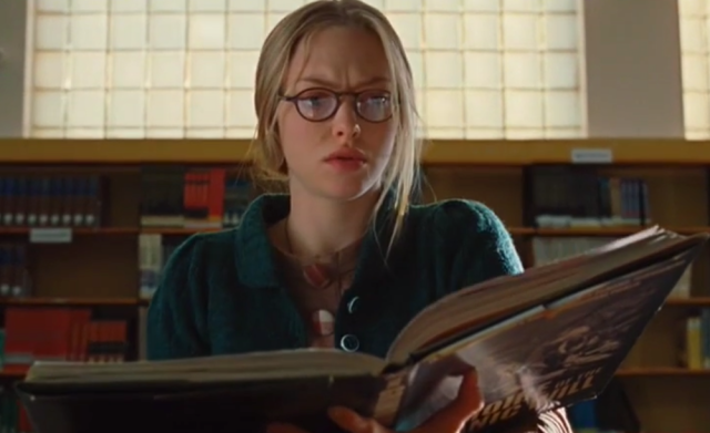 Needy researches the occult in her school library, Jennifer's Body (2009)