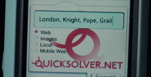 A closeup on keywords in 2006's The Da Vinci code
